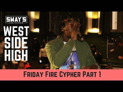Friday Fire Cypher: West Side High School Part 1 | Sway's Universe