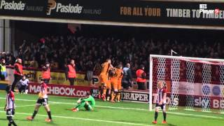 Match Highlights: Brentford 0 Hull City 2