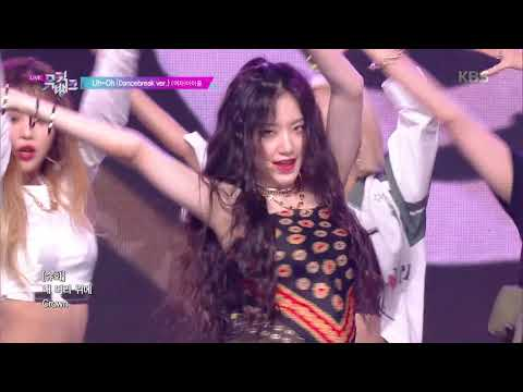 Uh-Oh - (G)I-DLE (여자)아이들 [뮤직뱅크 Music Bank] 20190628
