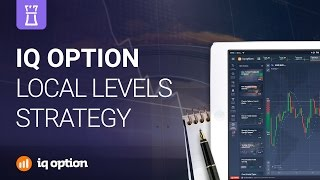 Local Levels trading strategy. IQ Option