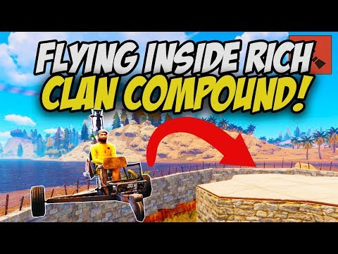 FLYING Inside RICH Clan Compound and Escaping with Everything! - Rust Solo #5 thumbnail