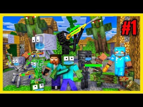 [ Lớp Học Quái Vật ] ĐẠI DỊCH ZOMBIE #1 ( PHẦN 1 )  Minecraft Animation
