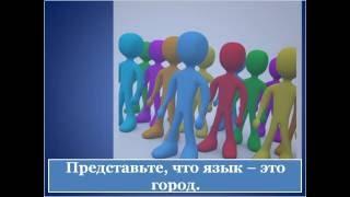 Части речи и члены предложения