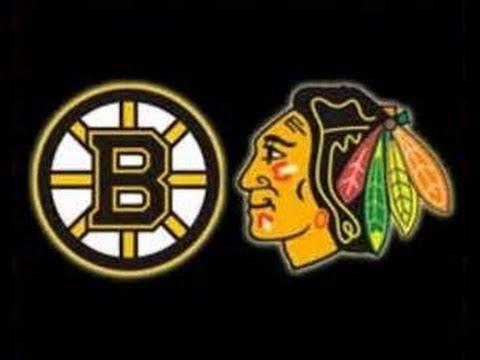 ChicagoBlackhawks Vs. BostonBruins/ TD Garden.
