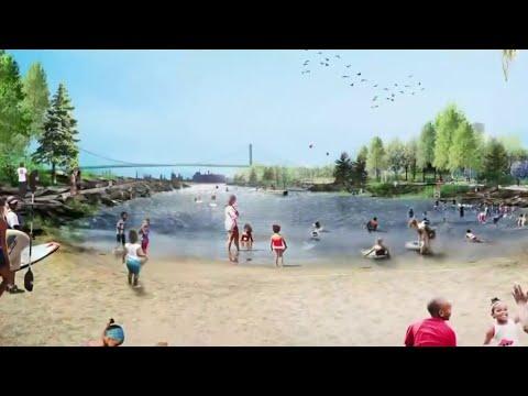 Ralph C. Wilson Jr. Foundation reveals plans for Detroit's West Riverfront Park