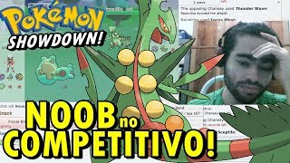 Pokémon Showdown! - Noob Jogando ''Competitivo