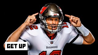 Louis riddick, tim hasselbeck and jeff darlington join mike greenberg on get up to talk about what it's like play with an nfl legend, as the tampa bay buc...