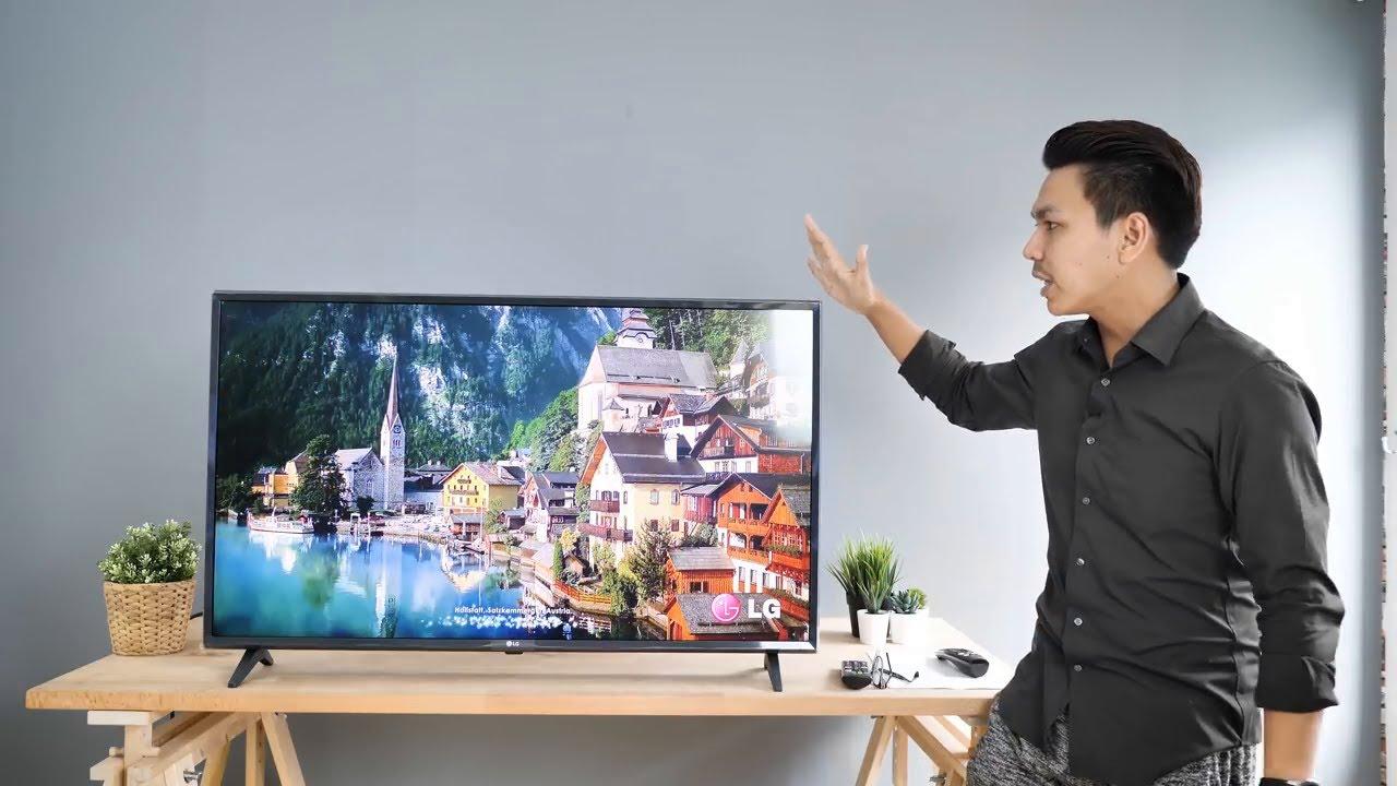 จอเล็กแต่สเป็กอย่างจี๊ด! - LG Smart TV 43LM5700