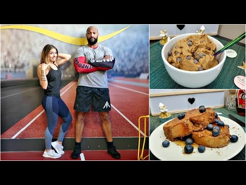EAT CLEAN & TRAIN DIRTY ** REAL 44 ** Vlog ** Healthy cookie dough