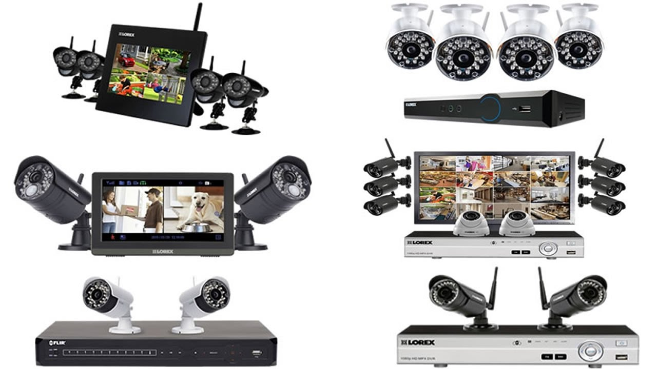 Camera Security Wireless Home 6 Systems