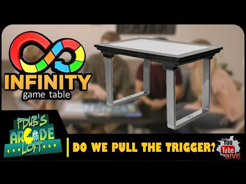 Arcade1Up Infinity Table Kickstarter is LIVE! Do we Pull The Trigger? from PDubs Arcade Loft