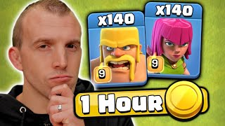 How Much Loot is Farmed with BARCH in 1 Hour?