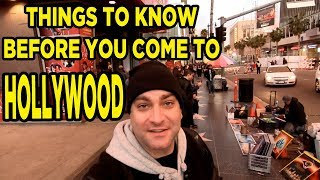 Los Angeles Hollywood Blvd Travel Tips: Things to Know Before You Come to LA