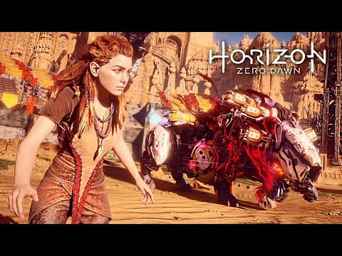 Horizon Zero Dawn - GLADIATOR ARENA BATTLE!! (HORIZON ZERO DAWN Gameplay Walkthrough Part 6)