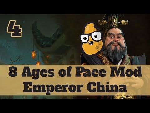 Civ 6 Modded China Ep. 4 - Let's Play Civ 6 Qin Shi Huang in the 8 Ages of Pace mod!