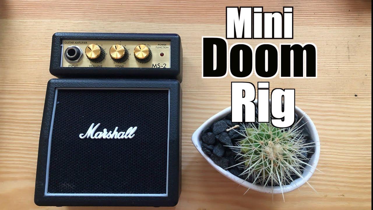 mini doom metal guitar rig youtube. Black Bedroom Furniture Sets. Home Design Ideas