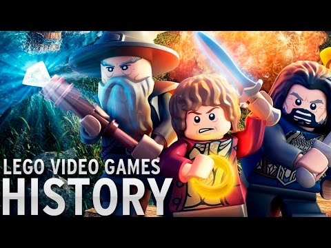 History of - LEGO Video Games (1997-2015)
