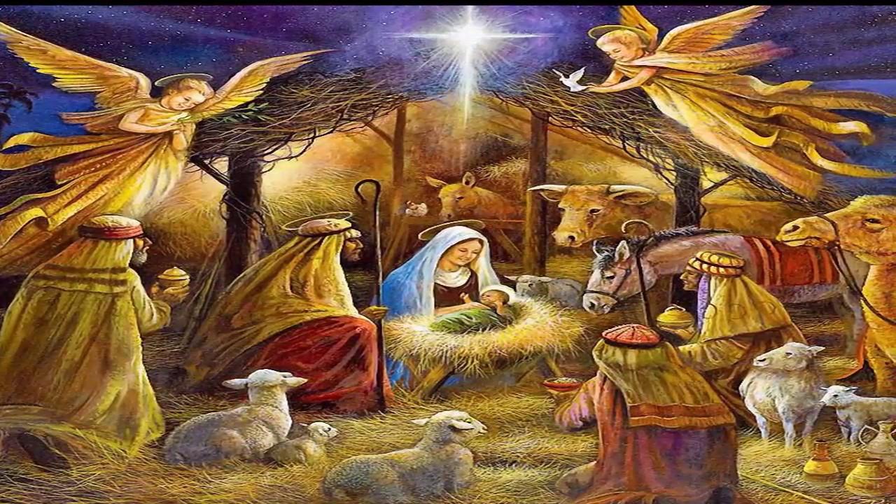 bcd8fccea01 Oración para poner la imagen del niño Dios en el pesebre - YouTube