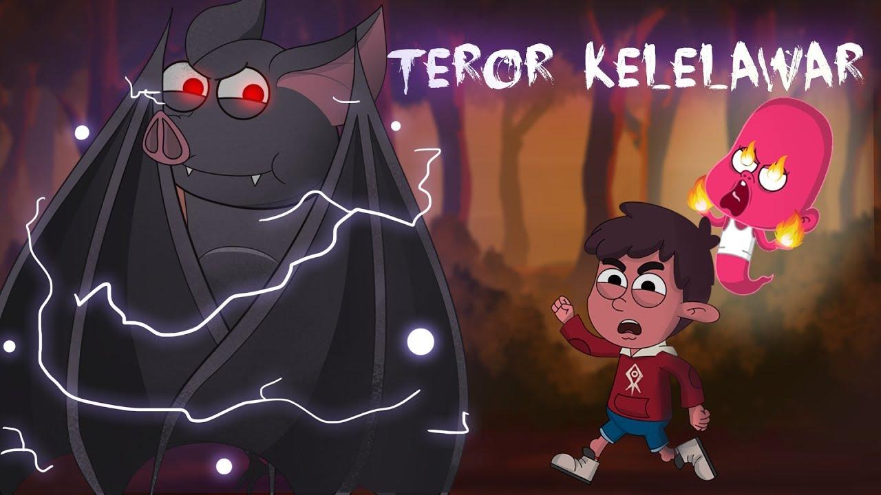 Kartun Lucu Teror Kalelawar Dunia Si Etan Animasi Horor Lucu