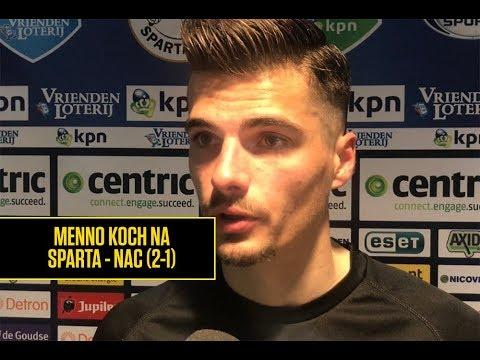 SPARTA - NAC   Reactie Menno Koch