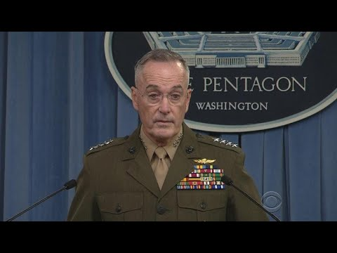 Highest-ranking U.S. Military Officer Takes Questions On Niger Ambush