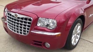 HD VIDEO 2006 CHRYSLER 300C HERITAGE LIMITED INFERNO RED METALLIC USED FOR SALE INFO WWW SUNSETMOTOR