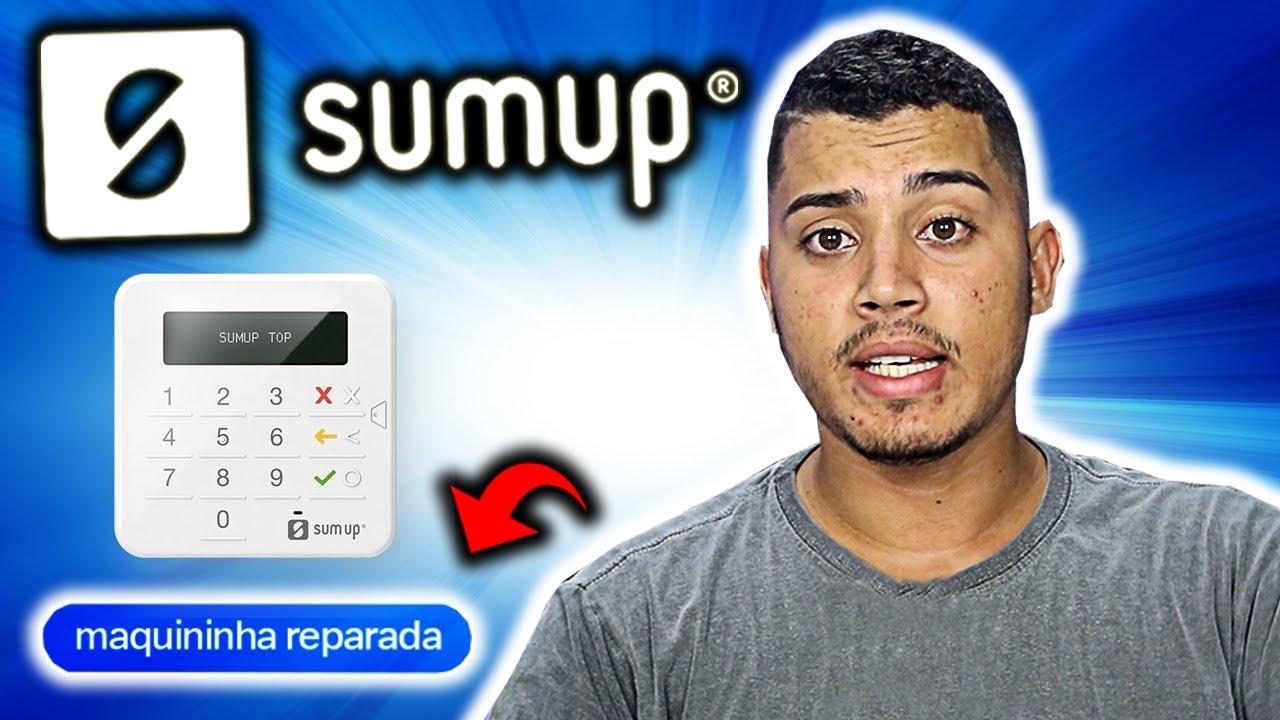 SumUp Top REPARADA: VALE a PENA essa máquina de cartão por R$12,00?