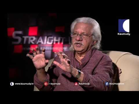 Adoor Gopalakrishnan About his 50 years movie experiences | Interview 1/2 | Straight Line 21-08-2016
