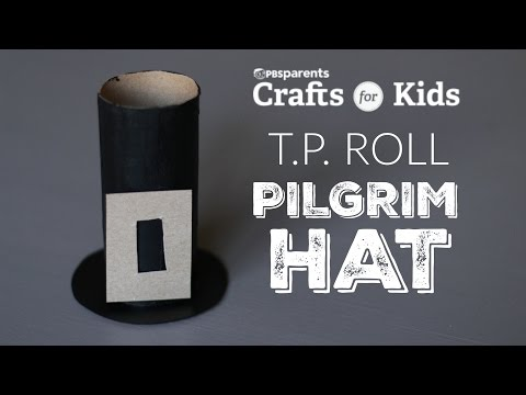 DIY Pilgrim Hats | Crafts for Kids | PBS Parents