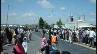 Hazur's Arrival at Baitul Islam Mosque Toronto 2008 1
