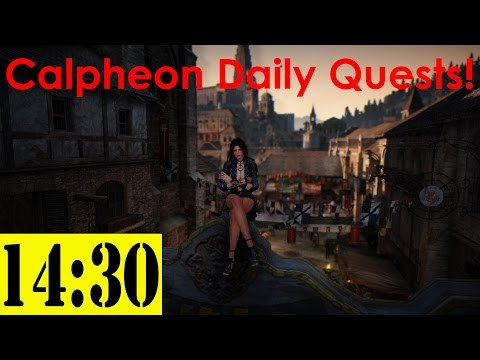 Calpheon Daily Quests under 15 minutes for Contribution - Black Desert Online