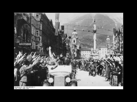 Anschluss of Austria: English Service Broadcast from Radio P