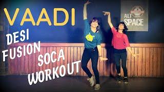 DESI FUSION Soca Dance Fitness Choreography by Vijaya Tupurani   Arjun   Vaadi Remix