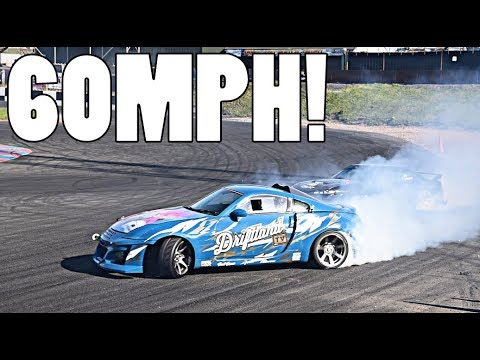 ATTEMPTING THE FASTEST DRIFT OF MY LIFE!!