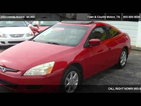 2003 Honda Accord EX V6 coupe AT - for sale in Lenoir City, TN 37771