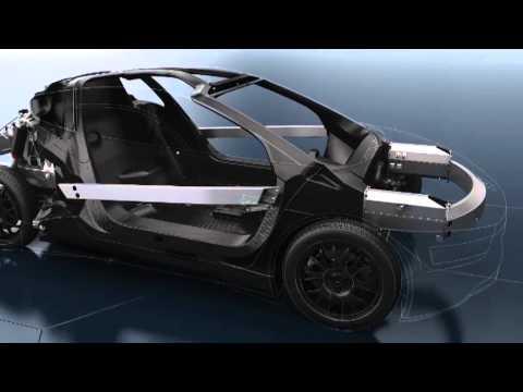 Volkswagen XL1 Animation Technology