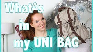 What's in my Uni Bag I UNI ESSENTIALS
