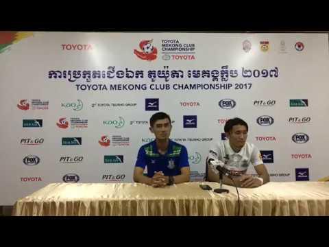 TMCC 2017 Round 1 (2nd Leg) Post-match Press Conference - Boeung Ket FC