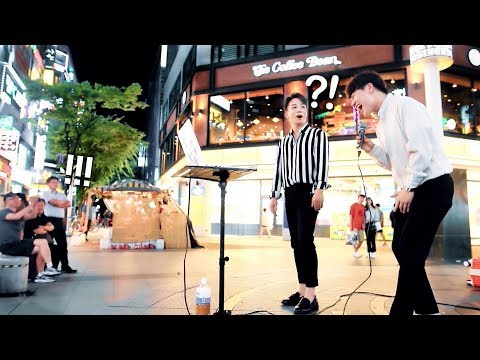 A Street Singer Gets BIG Surprise When REAL Singer Joins [ENG SUB]