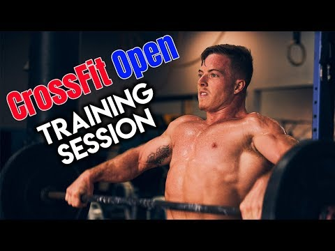 2019 CrossFit Open Training Session | Noah Ohlsen