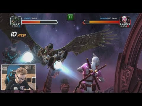 Vulture Rank Up, Awakening & Gameplay - Marvel Contest Of Champions