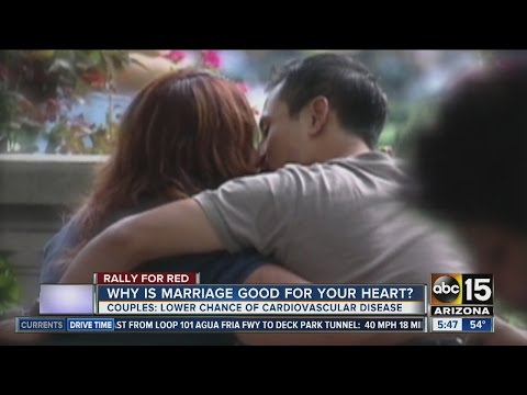Why marriage is good for your heart