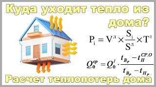 Расчет теплопотерь дома. Online программа, калькулятор теплопотерь
