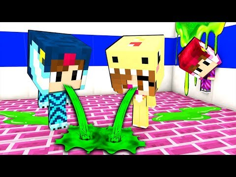 I MIEI AMICI VOMITANO A SCUOLA!!! - Scuola di Minecraft #3