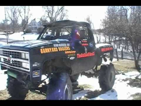 Theoutlawvideoss Chevy 4x4 Mud Truck Up For Sale Youtube