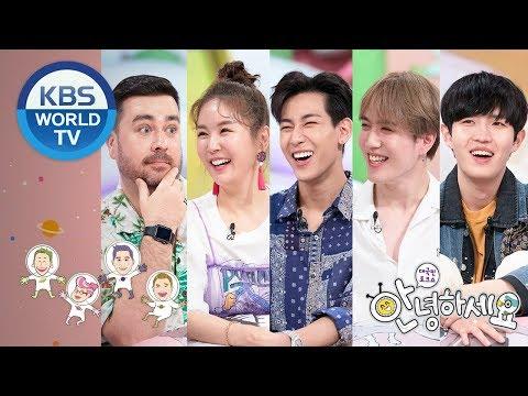 Guests: Kim JaeHwan, Sam Hammington, GOT7 (BamBam, Yugyeom) etc [Hello Counselor/ENG,THA/2019.05.27]