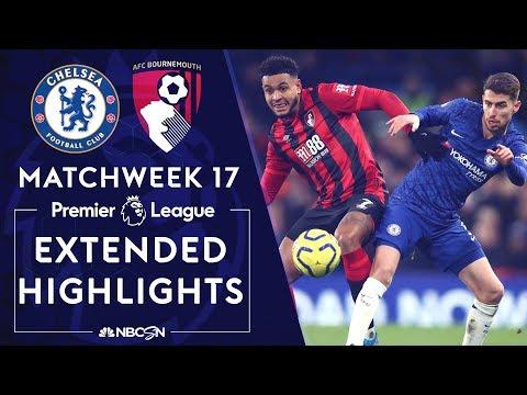Chelsea v. Bournemouth   PREMIER LEAGUE HIGHLIGHTS   12/14/19   NBC Sports