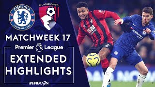 Chelsea v. Bournemouth | PREMIER LEAGUE HIGHLIGHTS | 12/14/19 | NBC Sports Video