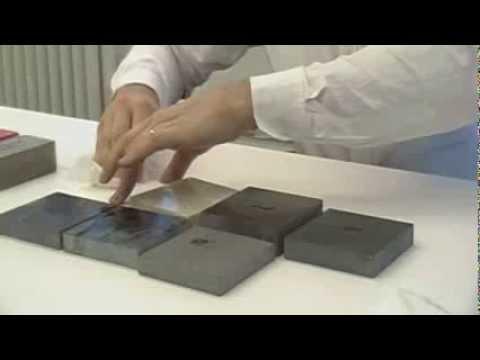 Natural Stone Acid Etching Youtube
