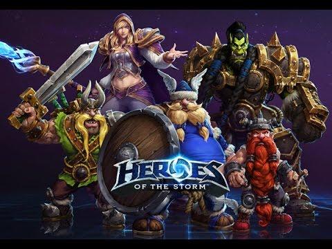 Heroes of the storm reviewการเล่น [แบบบ้านๆ]